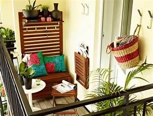 Kleinen Balkon Gestalten Günstig : h ngematte balkon und andere einrichtungsideen 15 ~ Michelbontemps.com Haus und Dekorationen