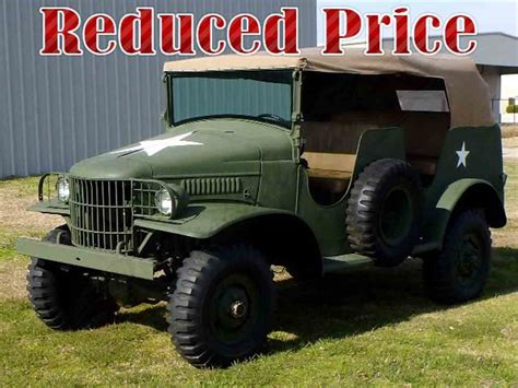 1942 Dodge Wc Wc56 Command Vehicle For Sale