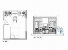 2D CAD Wardrobe Designed For Disabled People