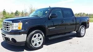 Sold 2009 Gmc Sierra 1500 Slt Crew Cab 4x4 Black 39k Gm