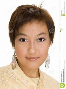 Malay Girl 8 stock photo. Image of hair, approachable ...