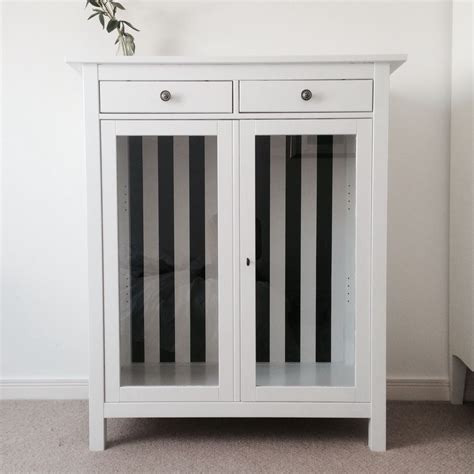 Ikea Linen Closet by Ikea Hemnes Linen Cabinet Hack From To White With