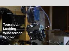 Touratech Locking Windscreen Spoiler Review YouTube