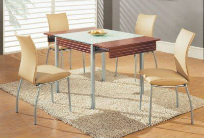 400 saginaw furniture extensol convertable d3232dt 5pc dinette w frosted glass top wooden extensions