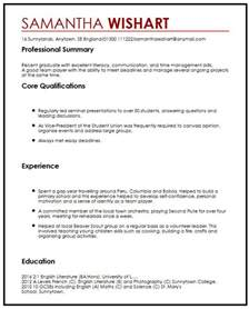 resume template school leaver no work experience cv sle with no experience myperfectcv