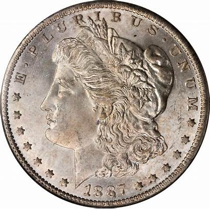 1887 Dollar Silver Value Morgan Coins Rare
