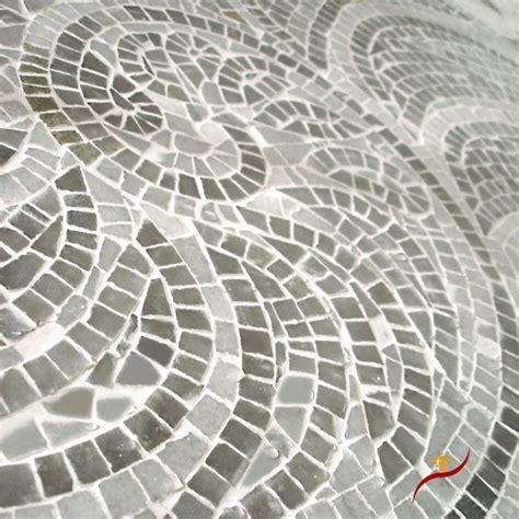 nautilus mosaic closeup contemporary tile los