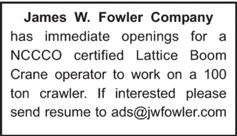 w fowler company daily journal of commerce