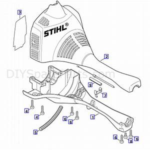 Stihl Fs 55 Brushcutter  Fs55  Parts Diagram  Engine