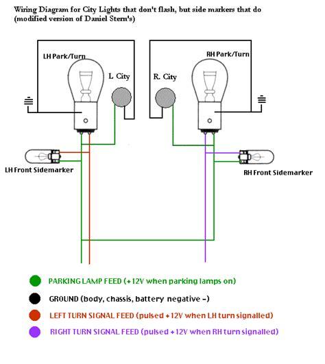 vwvortex city lights banana flash wiring diagram