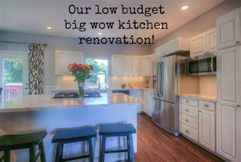 kitchen makeovers on a low budget our low budget big wow kitchen makeover the created home 9496