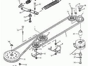 35 John Deere Lx172 Drive Belt Diagram