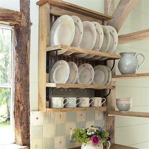 cozinha utensilios plate racks rustic plates home kitchens