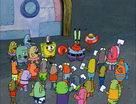 spongebuddy mania spongebob episode krabby land