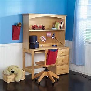 student desk with hutch by maxtrix kids shown in natural With boys desk and hutch