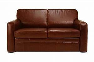 Bedworld discount brian leather sofa bed the flame brian 3 for Cheap leather futon sofa