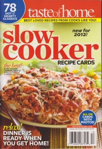 cooker magazine 17 best images about taste of home cookbooks on pinterest family cookbooks households and