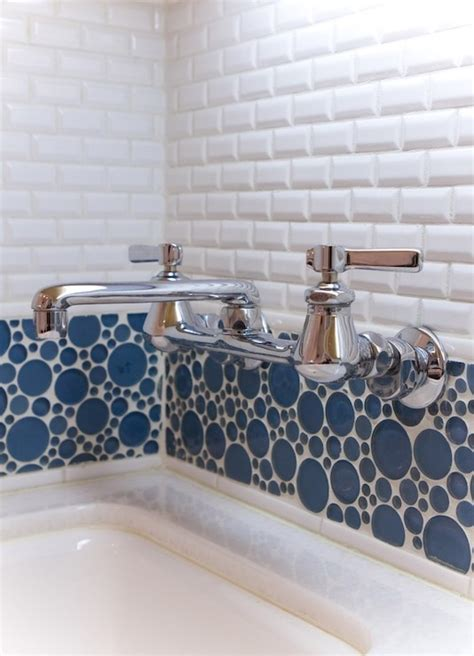 bubble tile contemporary laundry room charmean