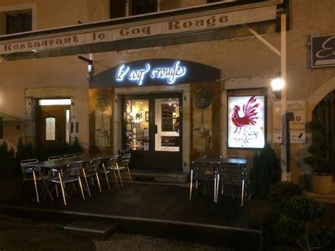 le coq picture of restaurant le coq genis pouilly tripadvisor