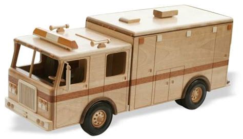 heavy duty ambulance  inches woodworking pattern