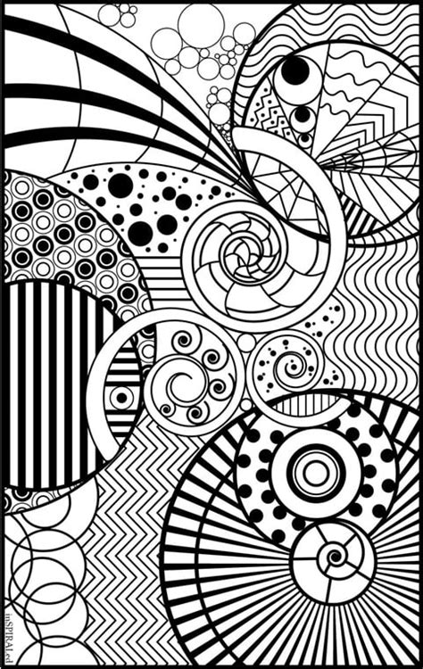 intricate design  coloring book printables