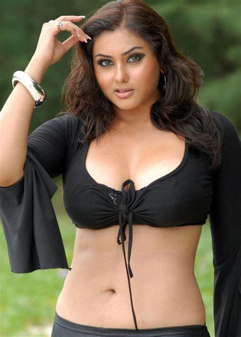 South Indian actress Navel show
