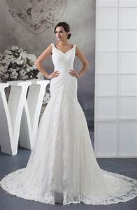 white lace bridal gowns allure full figure sleeveless fall With wedding dresses for full figures