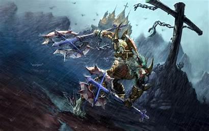 Warcraft Wow Worgen Wallpapers Desktop 4k Shadowlands