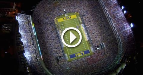 lsus saturday night  death valley  give  chills