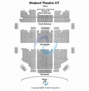 Shubert Theater New Haven Seating Chart Shubert Theater Ct Seating Chart