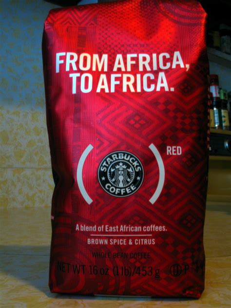 We continue to make sure your star balance and earned rewards are transferred over. (STARBUCKS)RED Whole Bean Coffee — Papawow