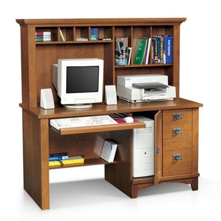 desk with hutch walmart sauder computer desk with hutch mission collection