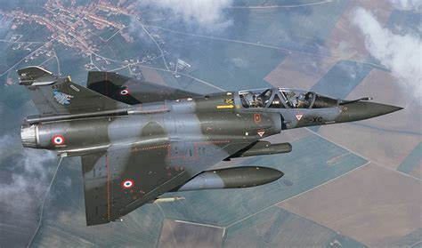 Alert French Mirage 2000d Fighter Jet Lost A Replica Bomb