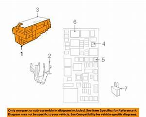 2009 Volkswagen Routan Fuse Box Diagram