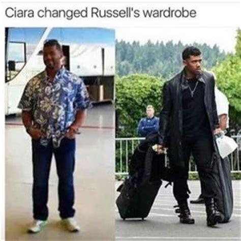 Ciara Meme - russell wilson meme kappit
