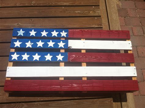 Unusual Kitchen Ideas - do it yourself american flag pallet art ideas 4 homes