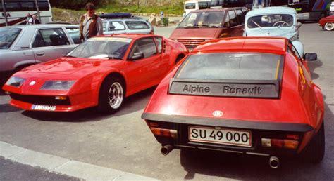 renault alpine a310 renault alpine a310 technical details history photos on