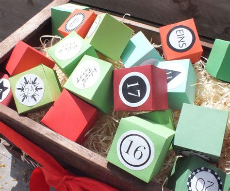 adventskalender mit sprüchen selber machen adventskalender schachteln jetzt selber basteln auf geschenke de