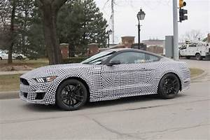 We spy Ford's 2019 Mustang Shelby GT500 muscle car
