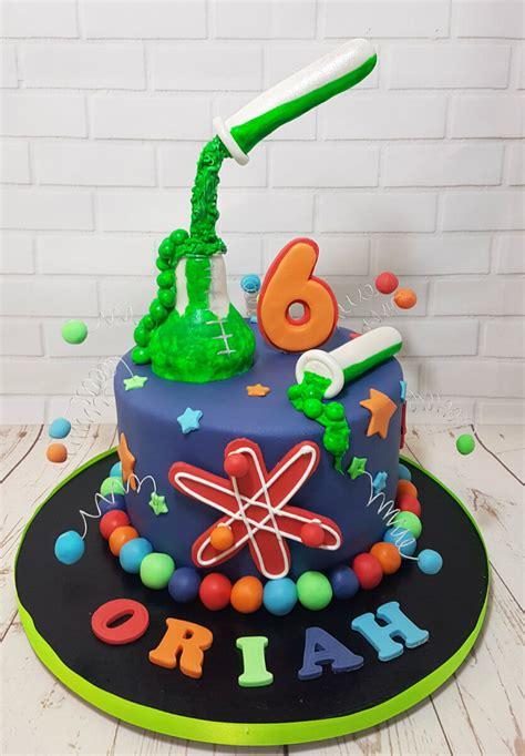 science theme birthday cake cupcakes quality cake