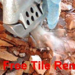 Dustless Tile Removal Houston by Ground Zero Floors Dust Free Tile Removal Flooring