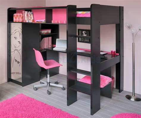 lit superpose avec bureau lit superpose avec bureau pour fille visuel 5