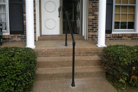 wheelchair r railing simple handrail for steps promotes elderly mobility 1002