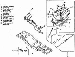 Service Manual  How To Remove Vapor Canister 2001 Isuzu Trooper
