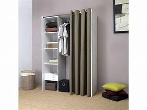 Dressing Pas Cher Conforama : dressing extensible 1 colonne diego vente de dressing ~ Dailycaller-alerts.com Idées de Décoration