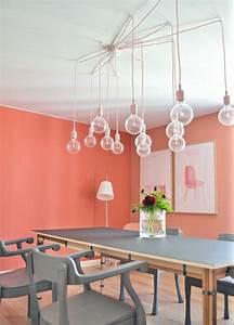 Quelle couleur de peinture pour une salle a manger for Couleur beige peinture murale 0 la couleur saumon les tendances chez les couleurs d