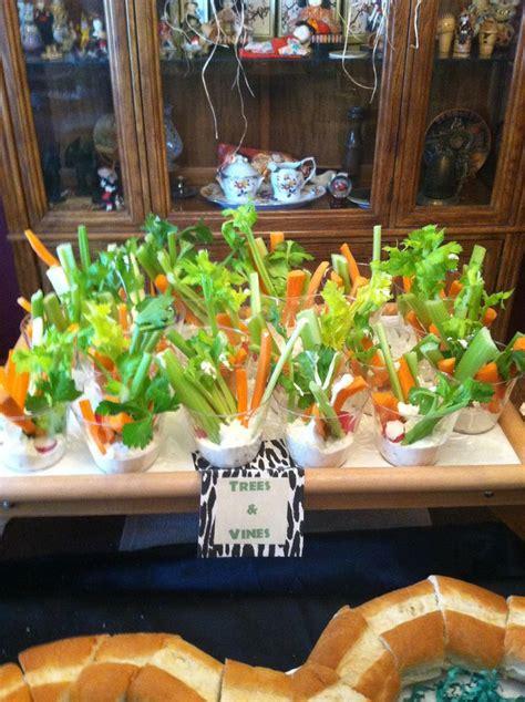 veggies  dip  jungle party jungle book pinterest