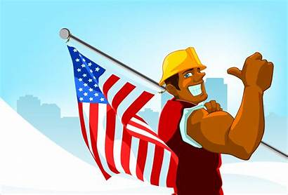 Labor Clip Clipart Graphics Workers Holiday Weekend