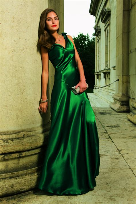 satin evening gown sewing projects burdastylecom