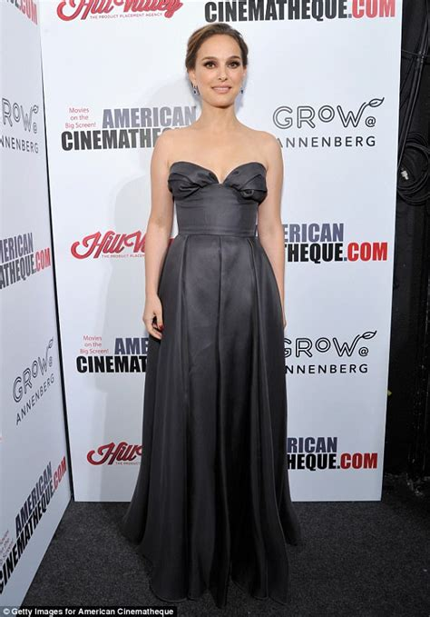 Natalie Portman Attends The American Cinematheque Awards